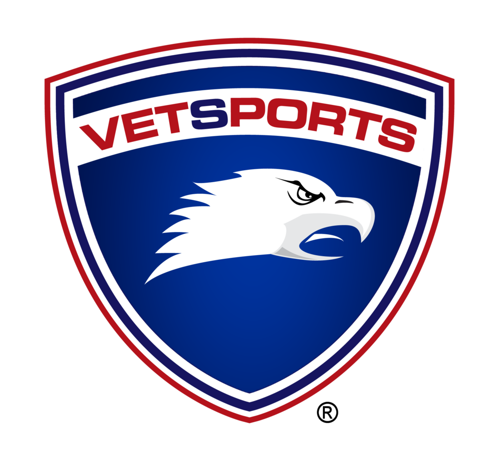 VetSports logo. Picture of eagle.