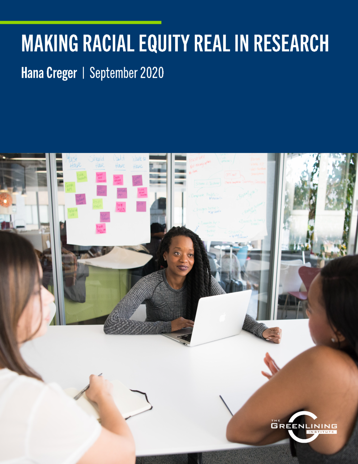 Making Equity Real in Research report cover