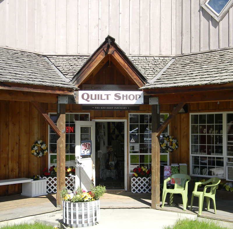 Cattle Country Quilt Shop, Joseph, OR