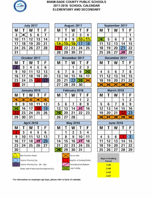 Mdcps Calendar 2020 A Time to Celebrate! PTSA Newsletter May 30, 2017