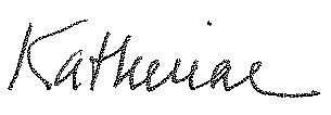 Katherine Signature Firstname