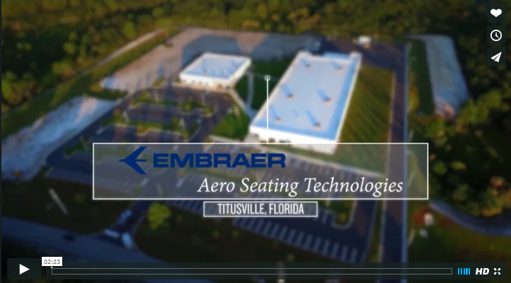 Embraer Project Drone Video