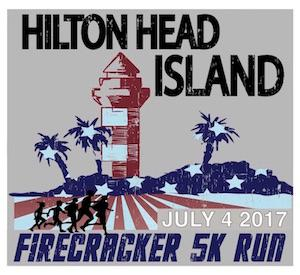 HHI July 4th Firecracker 5k Run logo