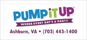 [DullesMoms.com Newsletter Sponsor: Pump It Up]