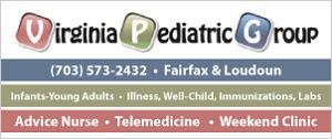 [DullesMoms.com Newsletter Sponsor: Virginia Pediatric Group]