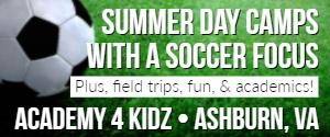 DullesMoms.com Newsletter Sponsor: Academy 4 Kidz