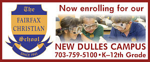 DullesMoms.com Newsletter Sponsor: The Fairfax Christian School