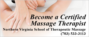 DullesMoms.com Newsletter Sponsor: Northern Virginia School of Therapeutic Massage