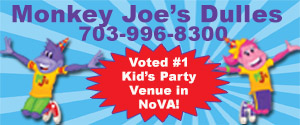DullesMoms.com Newsletter Sponsor: Monkey Joe's