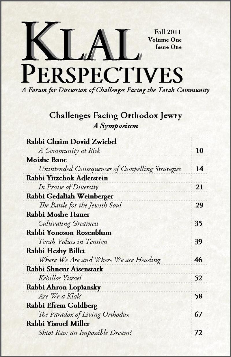 Klal Perspectives