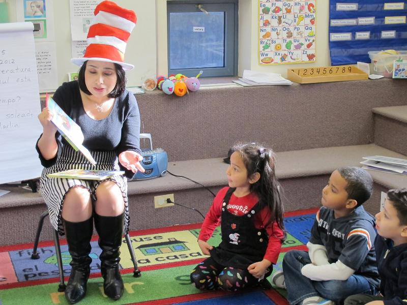Have a great impact reading to children