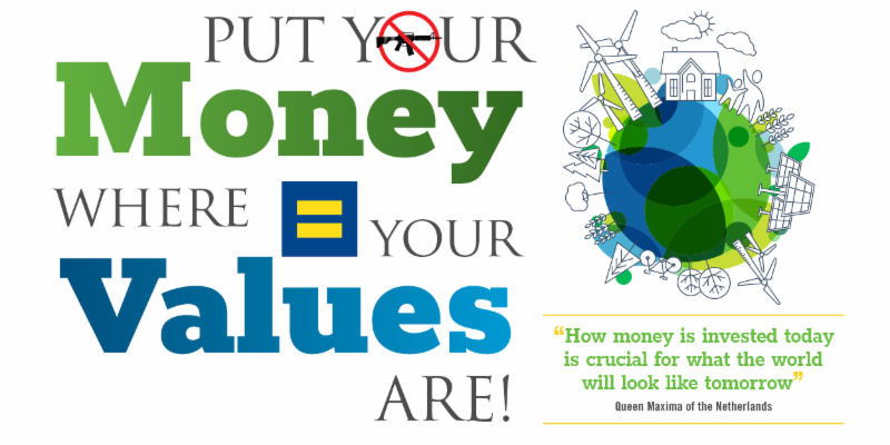 Put your money where your values are