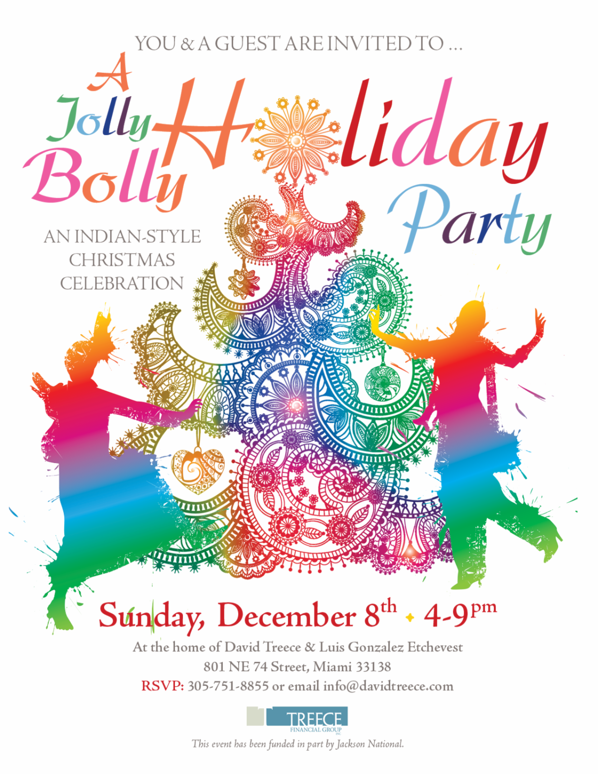 A Jolly Bolly Holiday Party: Sunday December 8th, 4-9 pm