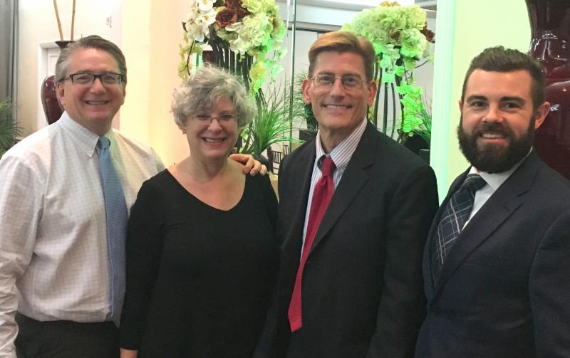 Team Treece (L to R) David Traupman, Martha Sternberg, David Treece, and Robert Wroblewski