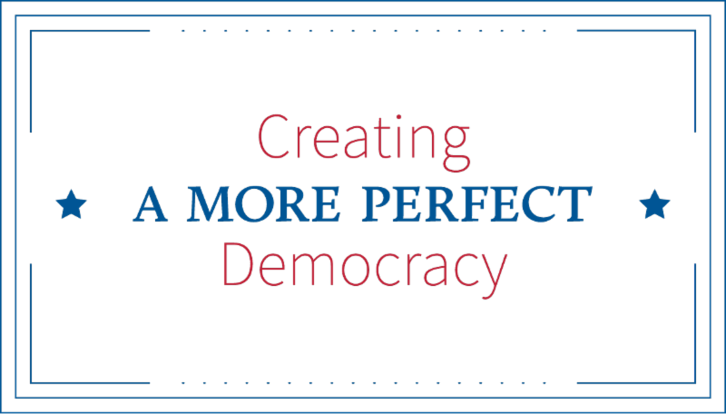 logo Creating a More Perfect Democracy