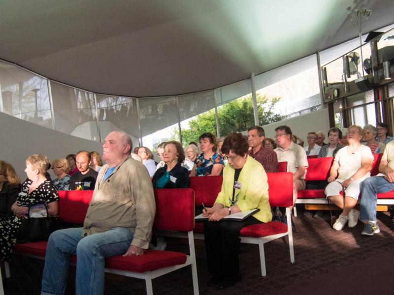Audience at _Making Democracy Work_ program