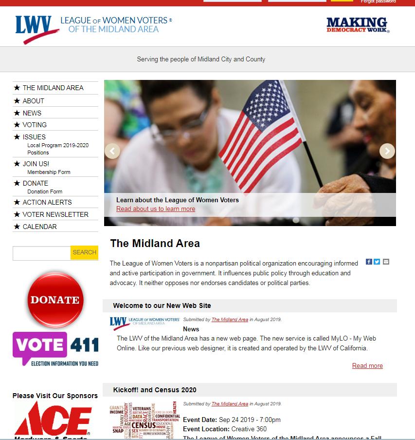 image of lwv-midland.org