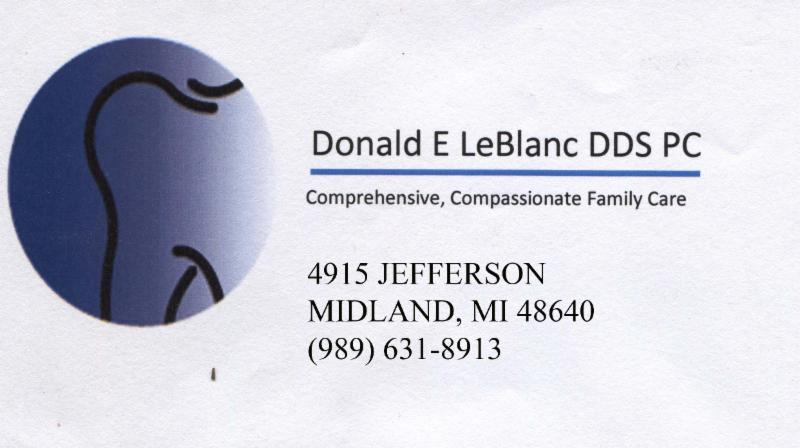 Donald E LeBlanc DDS