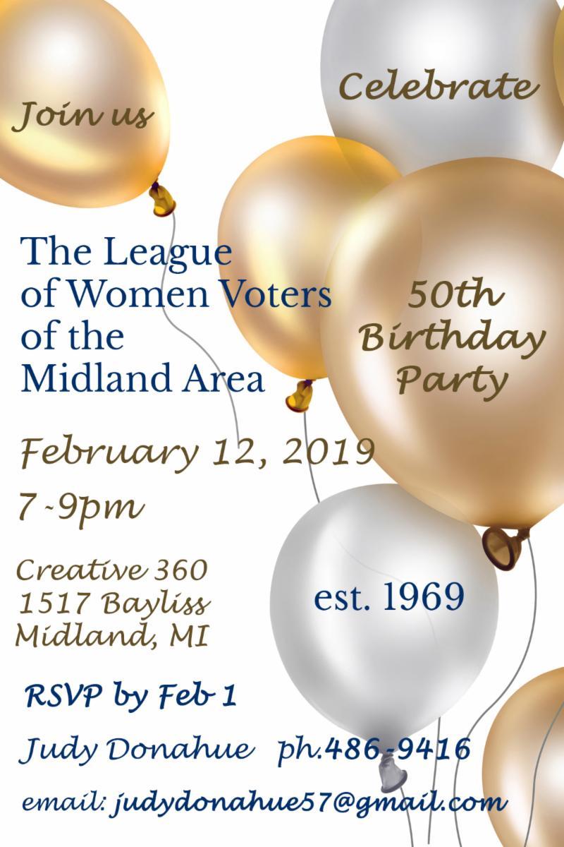 Invitation to Feb 12 event