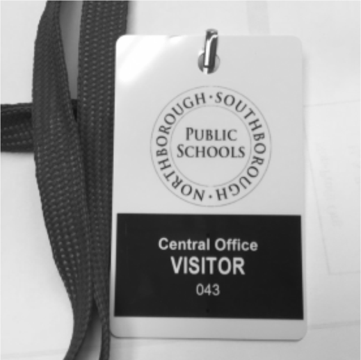 Central Office Visitor Badge