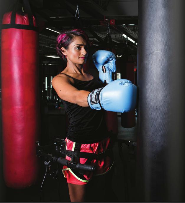 SCI Alberta Member Featured in new YEG Fitness Magazine