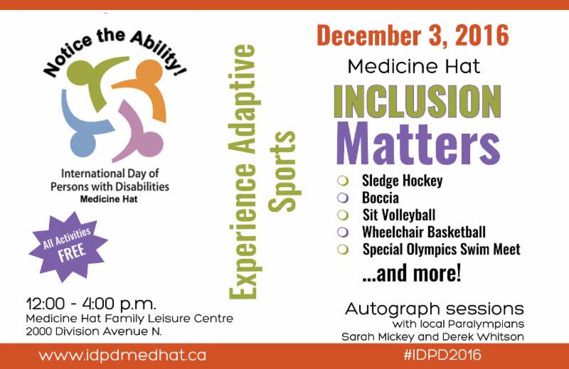IDPD Poster for Medicine Hat - December 3_ 2016