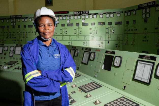 Martha Murotho is Assistant Control Engineer at EGENCO's Nkula Generation Control Centre_Photo - Power Africa