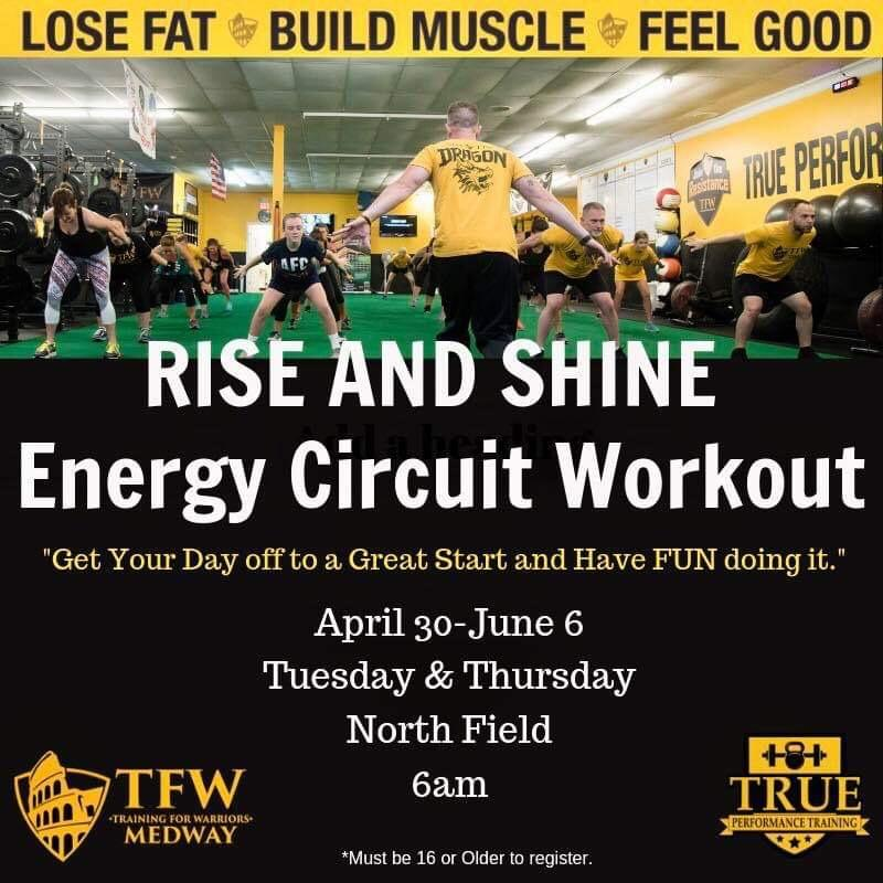 Medway Parks and Recreation - Energy Circuit Workout
