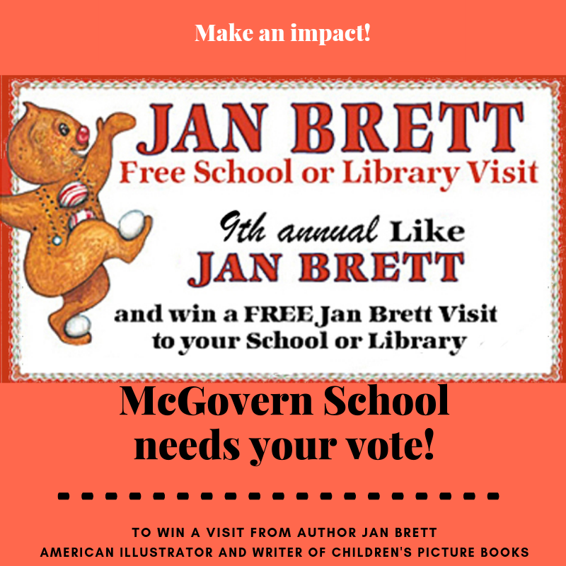 McGovern School Jan Brett Contest