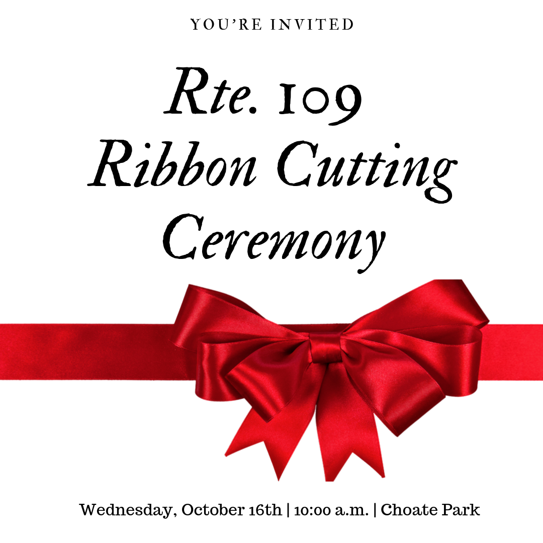 Rte. 109 - Ribbon Cutting Ceremony