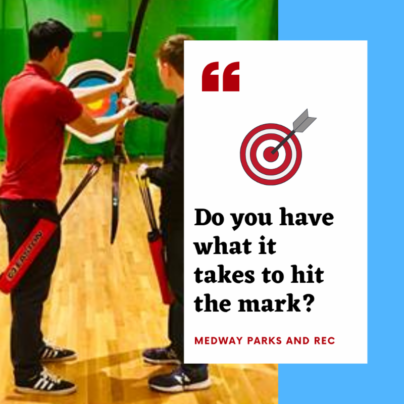 Medway Parks and Recreation Archery Open House