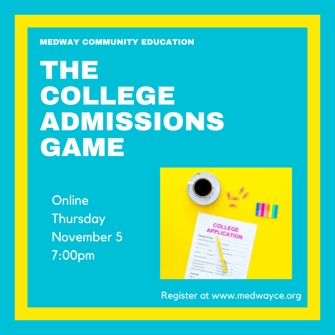 Medway Community Education - College Admissions Class