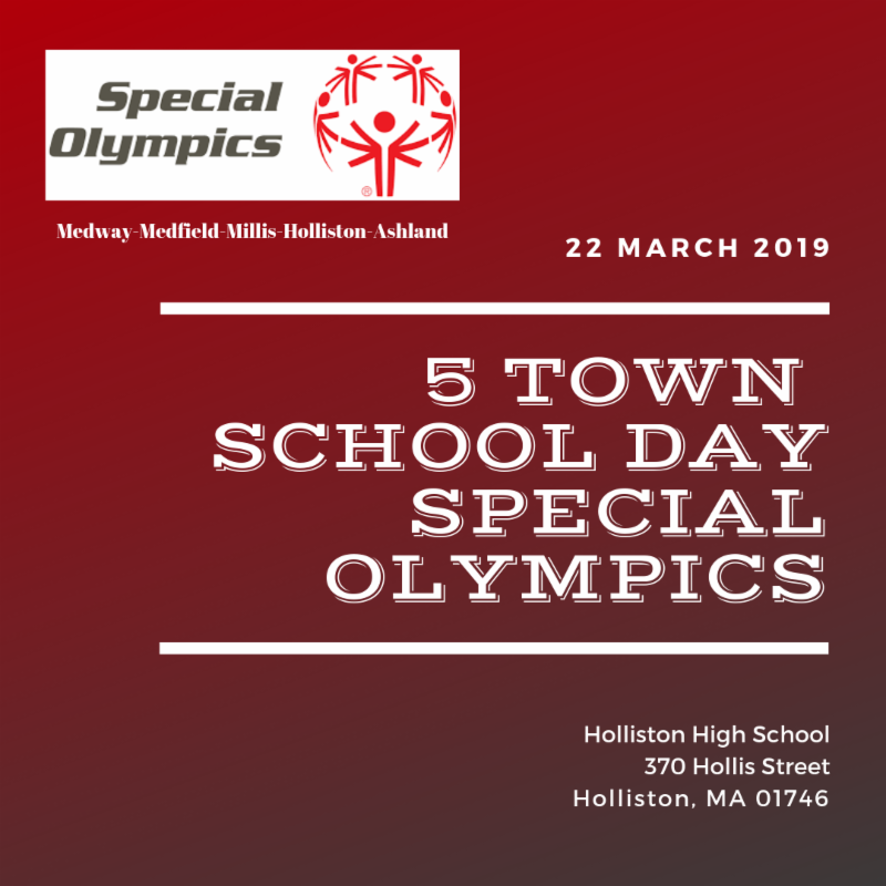 5 Town School Day Special Olympics