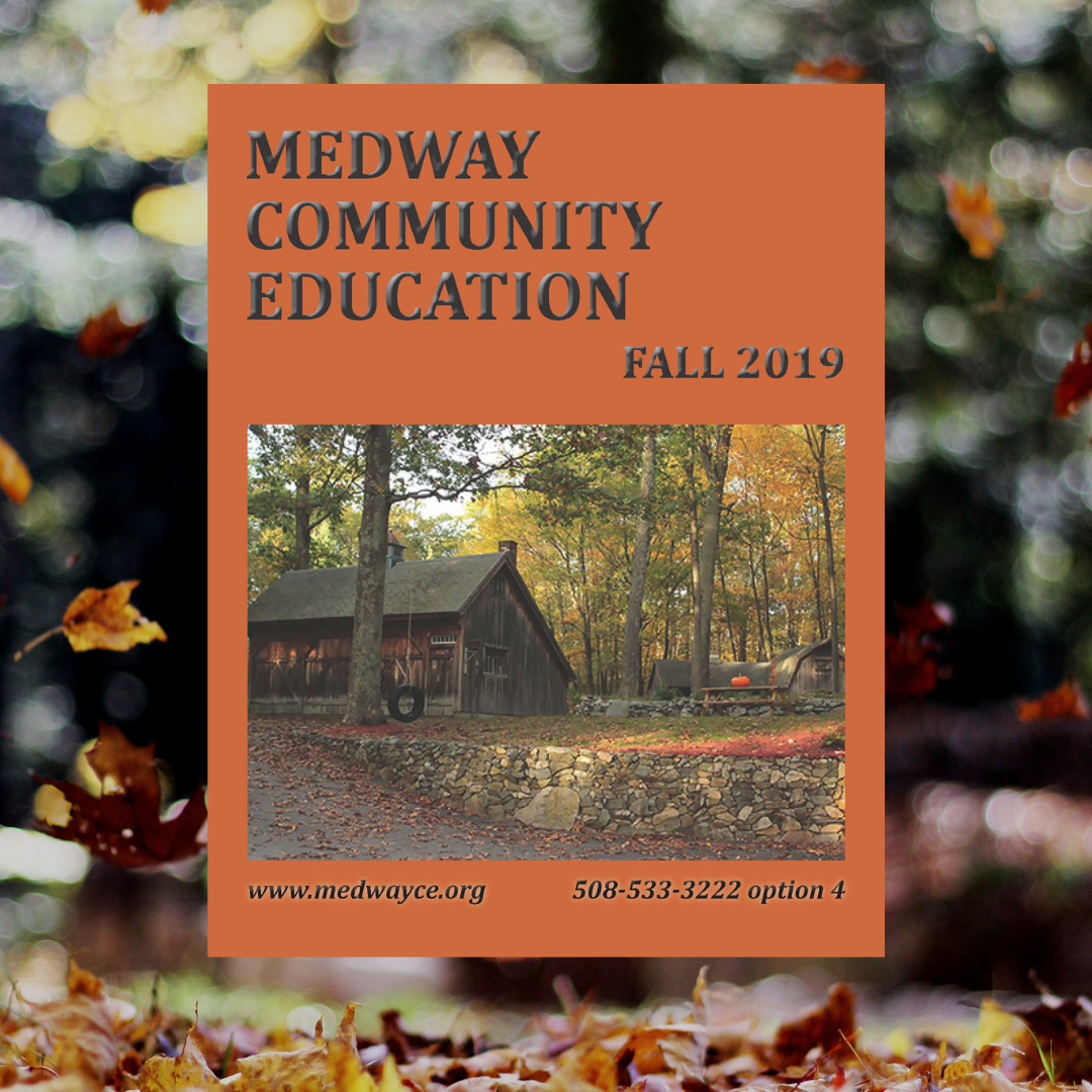 Medway Community Education Fall Brochure