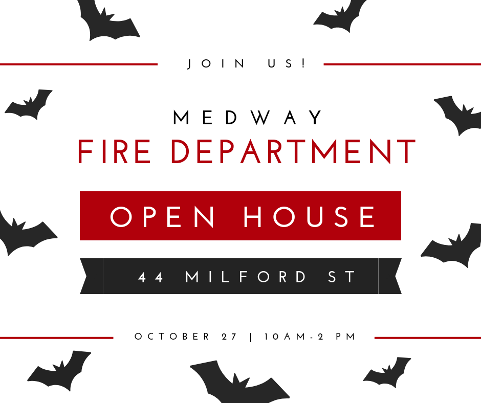 Medway Fire Department-Open House