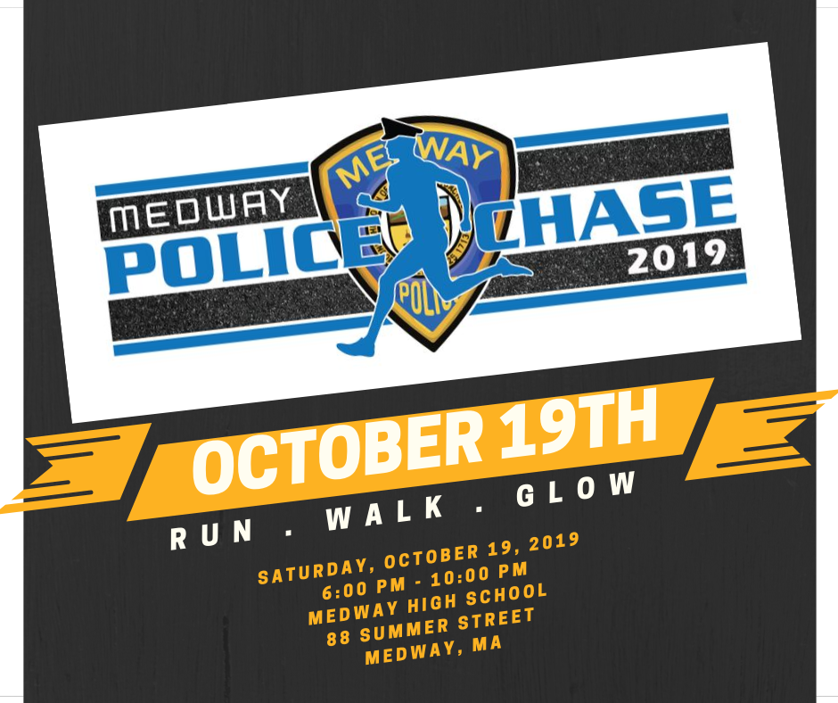 Medway Police Department-Police Chase 5K