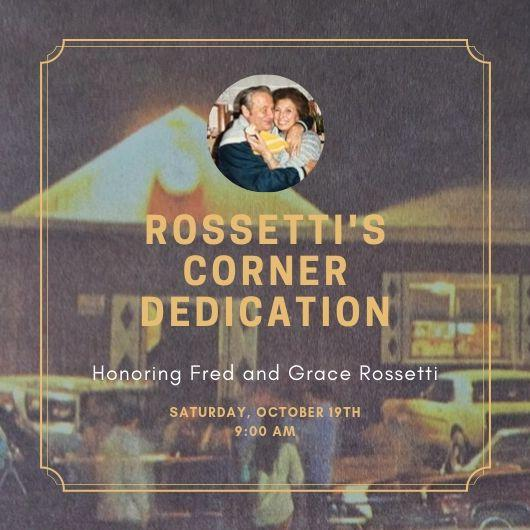 Rossetti's Corner Dedication
