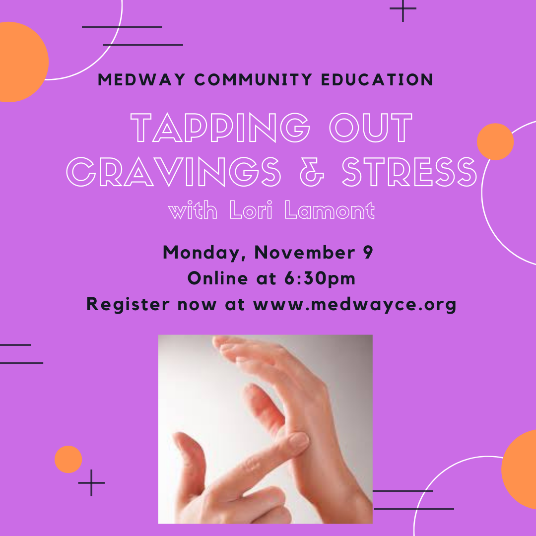 Medway Community Education - Tapping Out & Stress