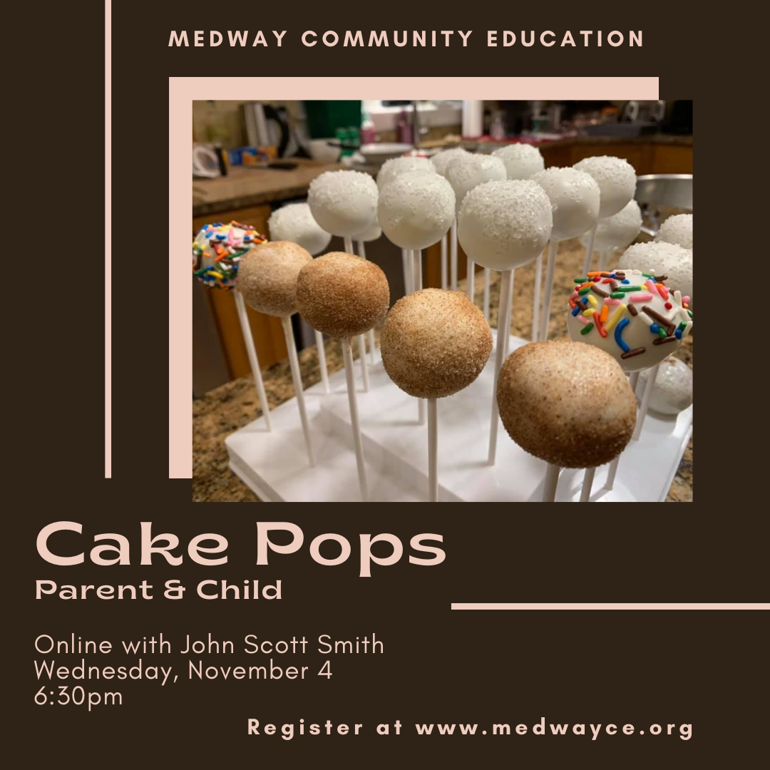 Medway Community Education - Cake Pops Class