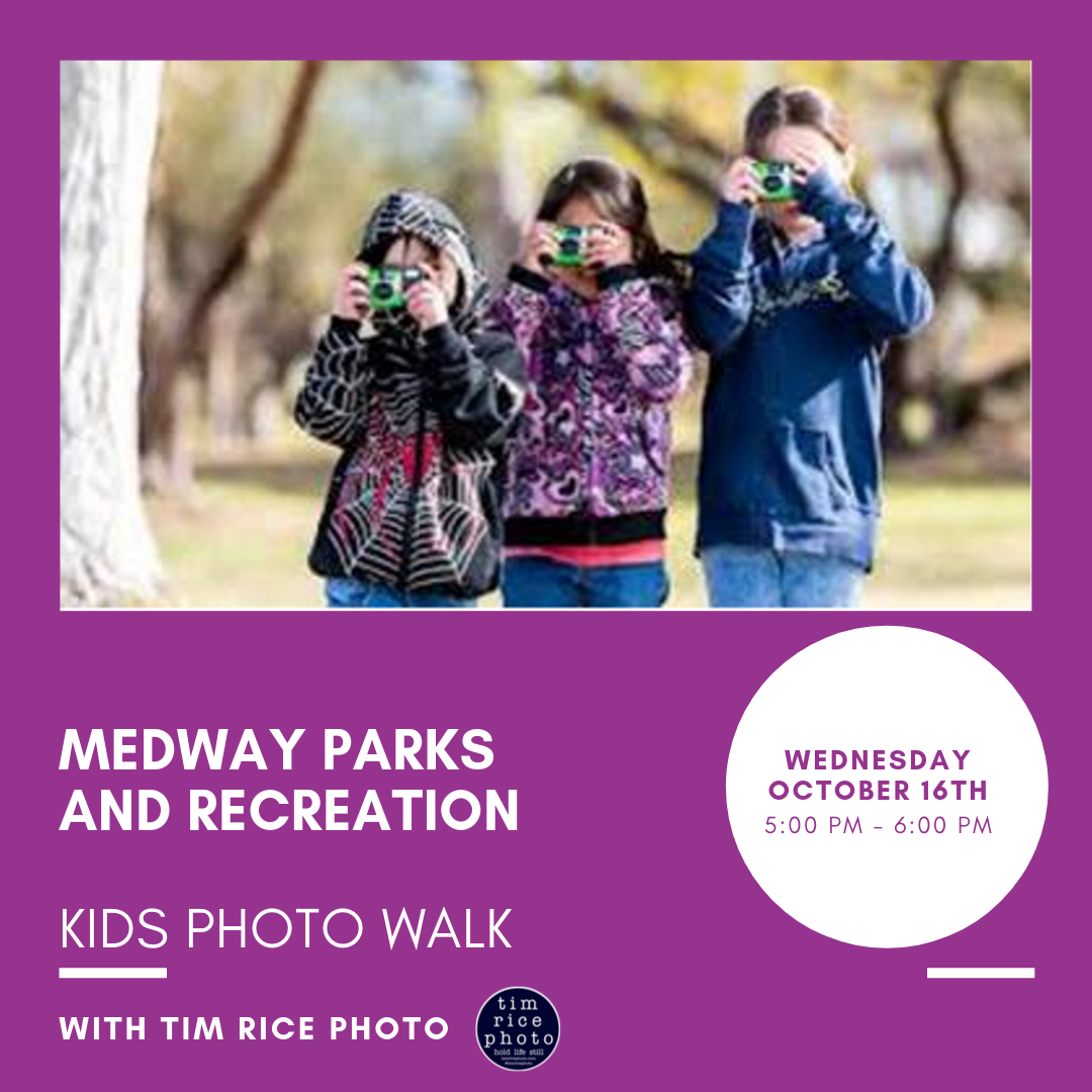 Medway Parks and Recreation-Kids Photo Walk