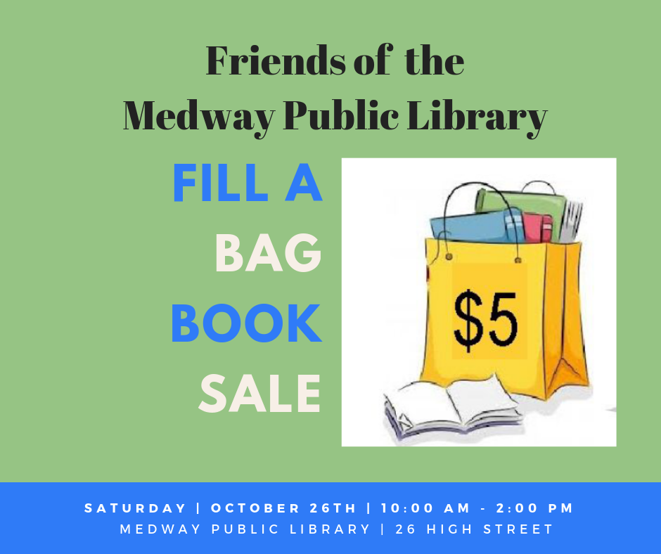 Friends of Medway Public Library-pre-sale