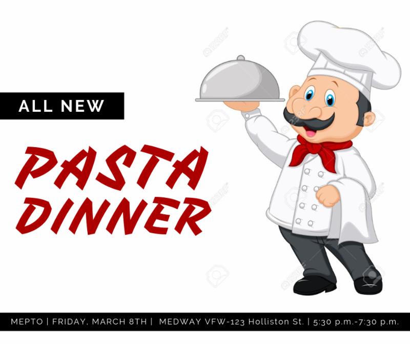 MEPTO - Pasta dinner night before the Shamrock Shuffle