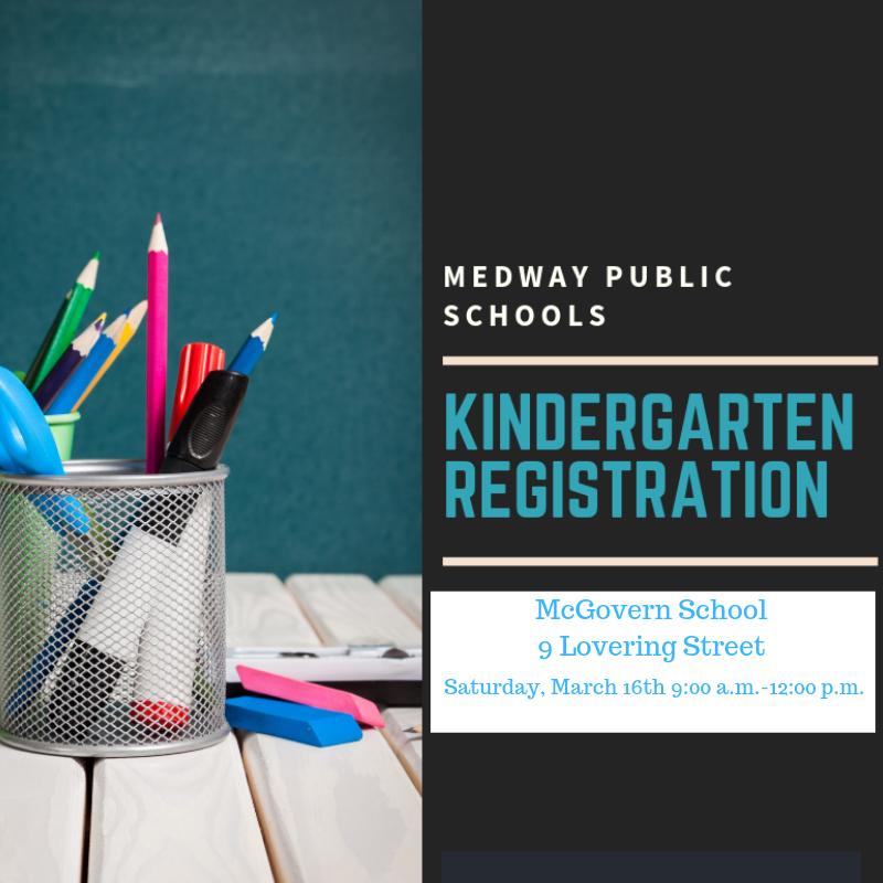 Medway Public Schools Kindergarten Registration