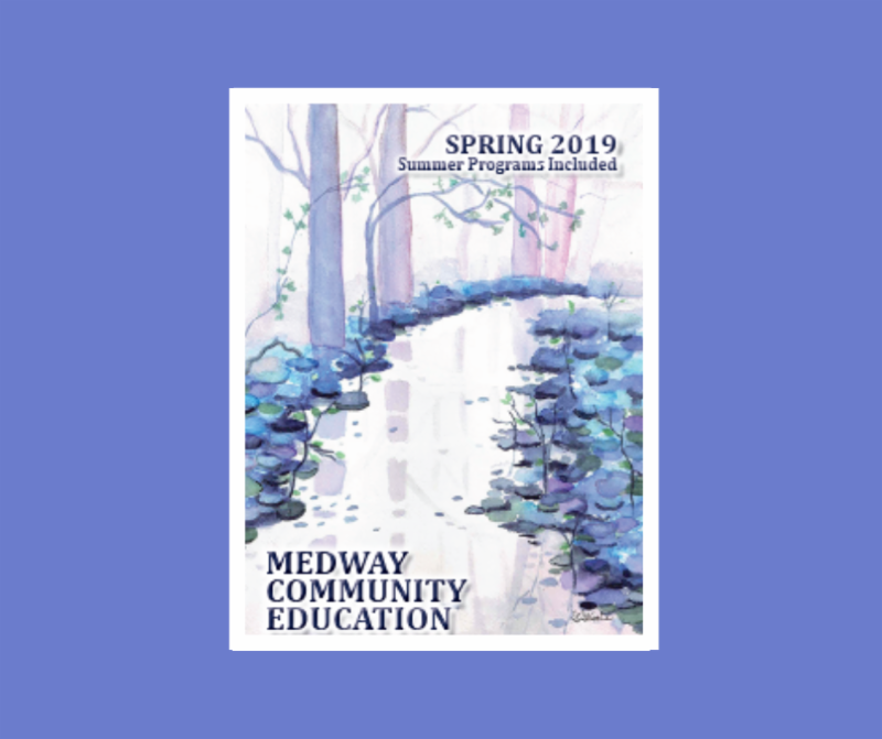 Medway Community Education Spring Brochure