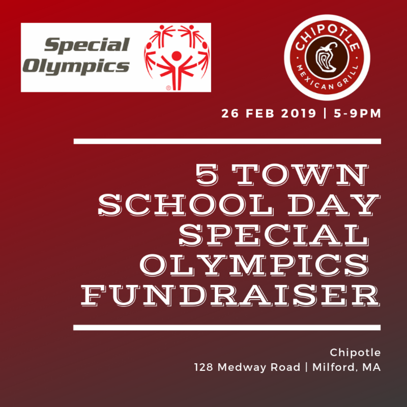 5 Town School Day Special Olympics Fundraiser
