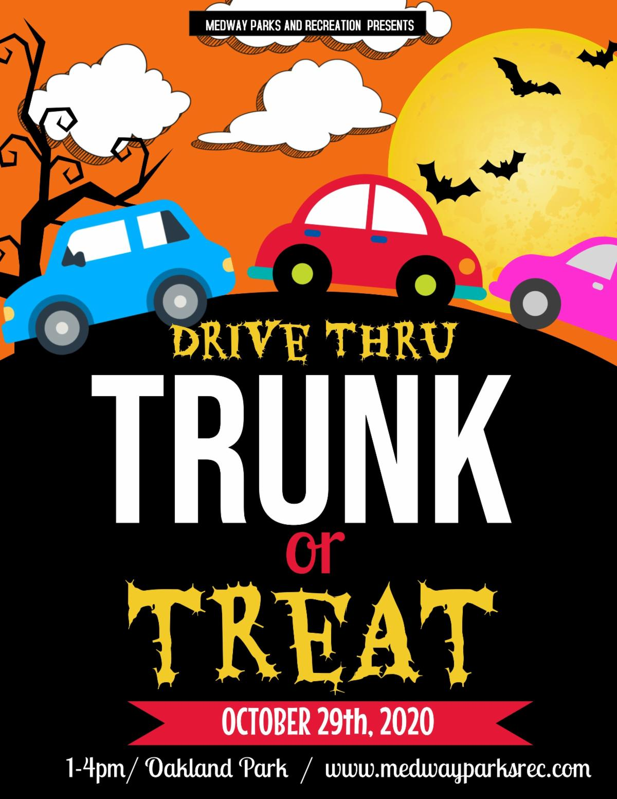 Medway Parks & Rec - Trunk or Treat Event