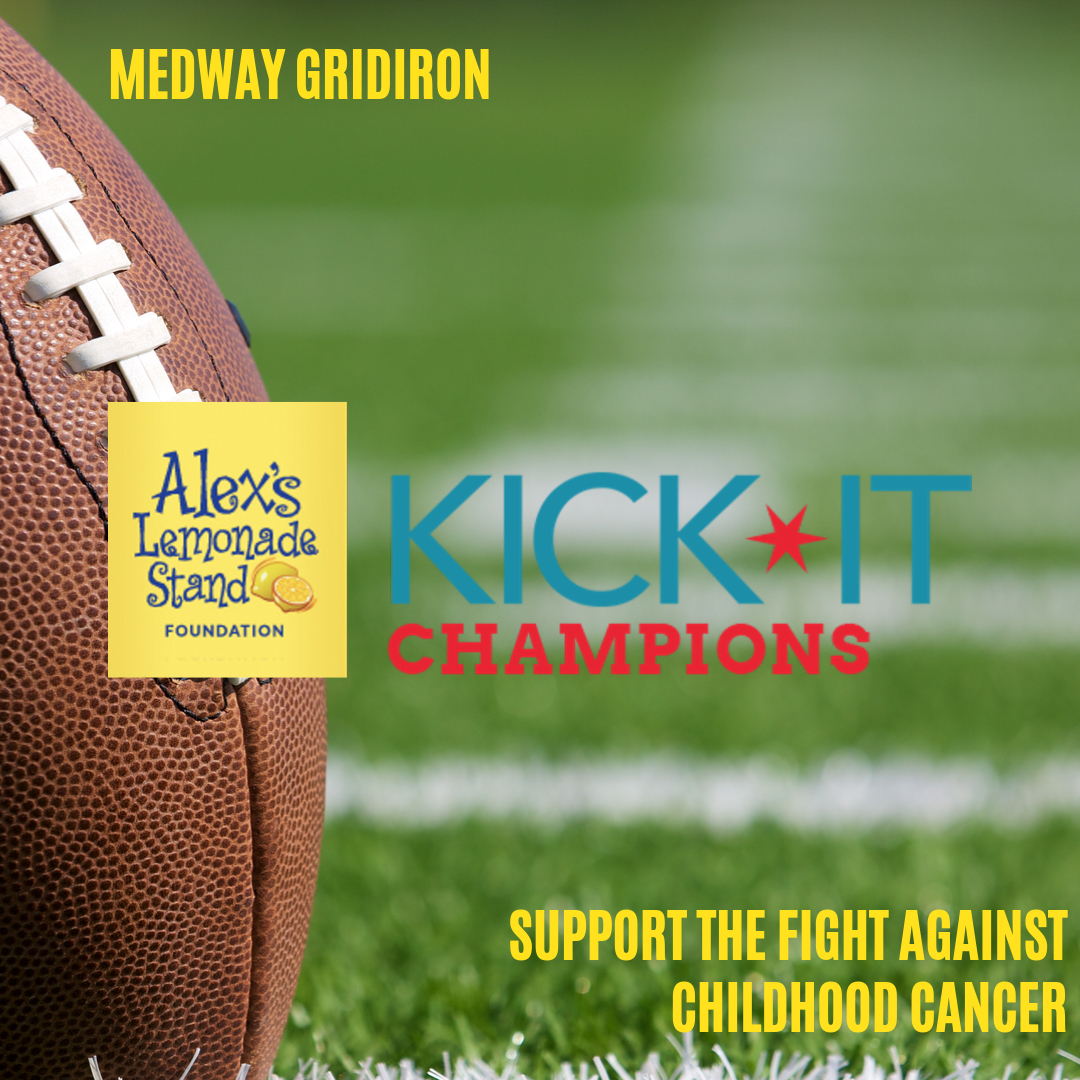 Medway Gridiron - Kick-it for Cancer