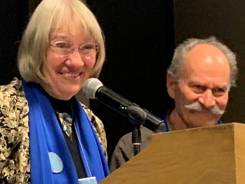 Mary Anne Ingenthron and Jerome Kerner