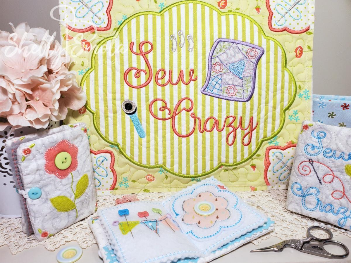 Sew Crazy by Shelly Smola