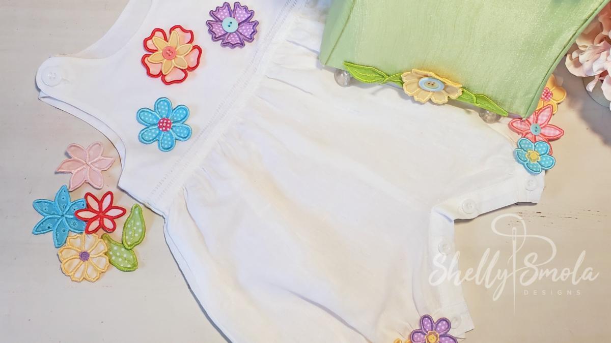 Flirty Flowers by Shelly Smola